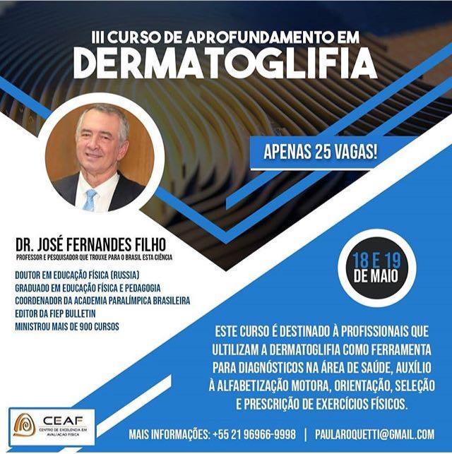 Curso de Aprofundamento de Dermatoglifia